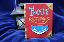 Thievius Raccoonus Sly Cooper Book Replica eReader / Kindle / iPad Custom Cover