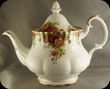 Large Royal Albert Old Country Roses Teapot Tea Pot Repaired