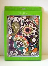 Vera Bradley Snap On Case for iPad 2 or iPad 3 Plum Crazy Retired NEW