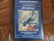 STUKAS ! ALBUM HISTORIQUE HEIMDAL EDITIONS LUFTWAFFE AVIONS ALLEMANDS AS RUDEL