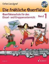 Die fröhliche Querflöte Band 1 mit CD, G. Landgraf - NEU VOM MUSIKFACHHÄNDLER !