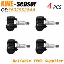 4pcs 56029526aa Tpms Tire Pressure Monitoring Sensor For Jeep Chrysler Dodge Ram