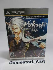 HAKUOKI DEMON OF THE FLEETING BLOSSOM LIMITED EDITION - PSP - NEW SEALED