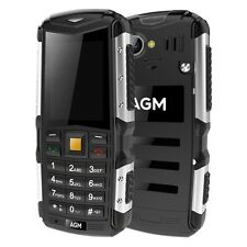 Radio AGM M1 3G Bar Phone Dual SIM 2.0 inch IP68 w/ Waterproof Camera Bluetooth