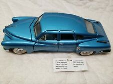Franklin Mint 1948 Tucker Car Die-Cast Rare 1:24 Scale