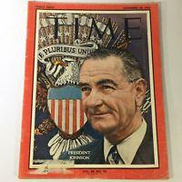 VTG Time Magazine November 29 1963 Vol 82 #22 U.S. President Lyndon B. Johnson