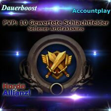 WoW 10 gewertete Schlachtfelder Battle Ground Bg´s - Artefakt Skin PVP Boost