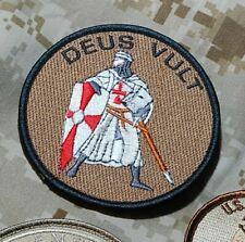 US EMBASSY ANNEX DSS KABUL SECURITY FORCE AFGHANISTAN burdock PATCH: DEUS VULT