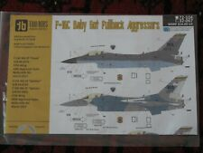 1:32 Two Bobs F-16C Baby Got Fullback Aggressors 32-067 Decals