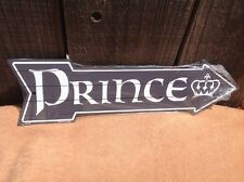 "Prince This Way To Arrow Sign Directional Novelty Metal 17"" x 5"""