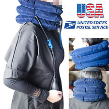USA Cervical Neck Stretcher Traction Device Inflatable Shoulder-Neck Pain Relief