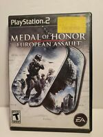 S - Medal Of Honor European Assault PS2 PlayStation 2 Complete Game