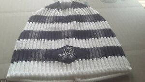 Dallas Cowboys Reebok Lifestyle Cuffless Striped Navy & White Adult Knit Hat