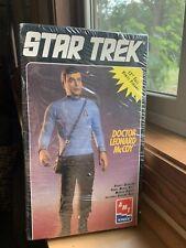 """AMT ERTL Star Trek 12"""" Doctor Leonard McCoy Vinyl Model Kit 8774 Sealed  1994"""