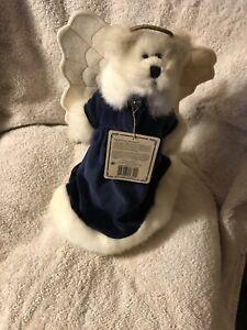Boyds Bear Angelique Angel Frost Plush Angel Bear Tree Topper