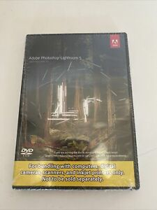 Adobe Photoshop Lightroom 5 09258-Eng JCK Windows / Mac OS New