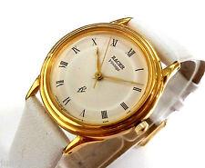 Reloj pulsera mujer RACER VINTAGE RV Original D859JQ Quartz Nuevo enchapado ORO