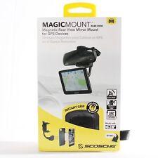 MagicMount magnética de montaje en espejo retrovisor para los dispositivos GPS y teléfonos inteligentes
