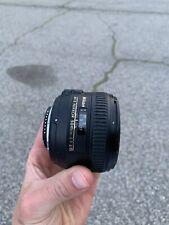Nikon AF-S NIKKOR 50mm f/1.4G Lens Great Condition!!