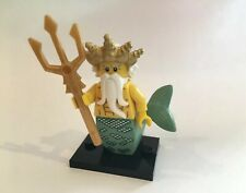 LEGO OCEAN KING MINIFIGURE SERIES 7 COLLECTIBLE CMF FIG MERMAID MAN OF ATLANTIS