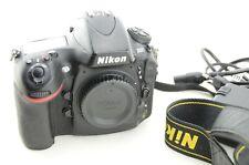 Nikon D800 Body 36.3 MP DSLR Schwarz, Auslösungen/shutter count 58121