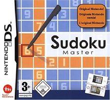 SUDOKU MASTER         -----   pour DS  ---   NINTENDO