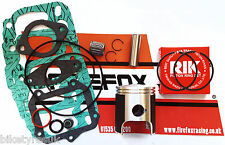 APRILIA AF1 RS125 RS 125 rénovation EMBOUT HAUT Kit incluant PISTON & Joints