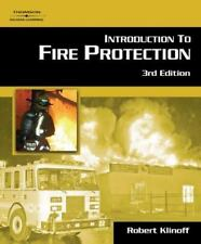 Introduction to Fire Protection by Robert W. Klinoff (2006, Hardcover, Revised)