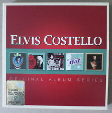 5 CD  *** ELVIS COSTELLO. ORIGINAL ALBUM SERIES  ***