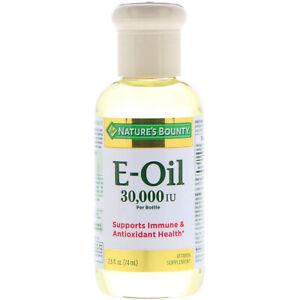 Nature's Bounty, Vitamin E-Oil, 30,000 IU, 2.5 fl oz (74 ml)