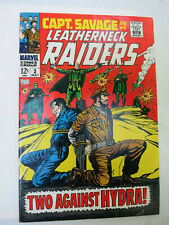 Captain Savage and his Leatherneck Raiders #3 High Grade, see the pix