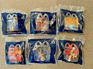 2021 McDonalds Disney 50th Anniversary Lot of 6 Toys 1, 4, 13, 28, 40, 45 Mickey