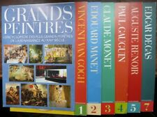 Lot 6 revues Grands Peintres - Van Gogh, Manet, Monet, Gauguin, Renoir, Degas