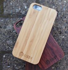 OXSY Bamboo Real Wooden Case Wood Cover - iPhone 6 / 6S - Free 1st Class UK Post