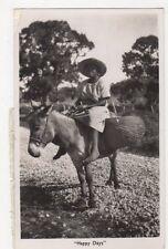Jamaica, Happy Days, 2 x 4d stamps RP Postcard, B129
