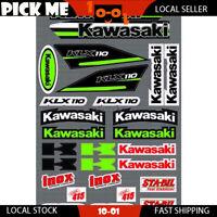 Sticker Kit For Kawasaki KLX110L 2010 2011 2012 2013 2014 2015 Sticker Decal Kit