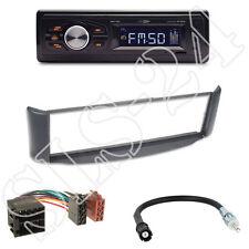 Caliber RMD022 Radio orange + Smart ForTwo (A/C-450) Blende grau + ISO Adapter