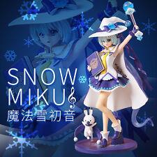 Hatsune Miku Magical Snow Ver Sexy Girl PVC Figure Statue 3D Model China Replica