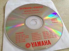 Yamaha YFM45FAY FGY quad 03 à 09 Workshop Service manual manuel atelier  CD pdf