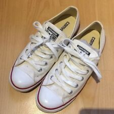 Converse Chucks All Star Dainty Ox White Canvas Schuhe Weiß, 37.5, gebraucht