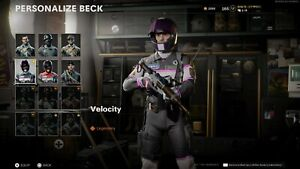 Call of Duty Black Ops Cold War Sky Velocity Racer Operator Skin (RAREST SKIN)