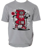Hello t shirt phone booth mobile comics s-3xl