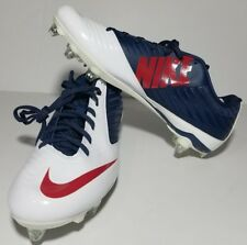 New listing NEW NIKE VAPOR Speed Low TD Football Cleats BLUE/WHITE/ RED 668854-413 SZ 12
