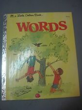 The Golden Book of Words by Selma L. Chambers (1975, Hardcover)