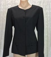 VICSIN AUSTRALIAN DESIGN  SIZE 12  BLACK SKIRT SUIT NWOT