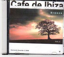 (EX721) Cafe de Ibiza, Breeze Vol 2, 14 tracks - 2008 DJ CD