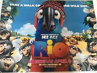 Rio Original Uk Quad Poster