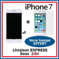 ECRAN LCD RETINA VITRE TACTILE AVEC CHASSIS POUR IPHONE 7 BLANC