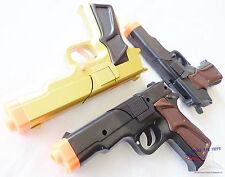 3x Toy Guns MEGA Set! Military Detective 3x 9MM Pistol Cap Guns Set BBG