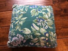 Laura Ashley Bramble Accent Pillow  12 x 12  green